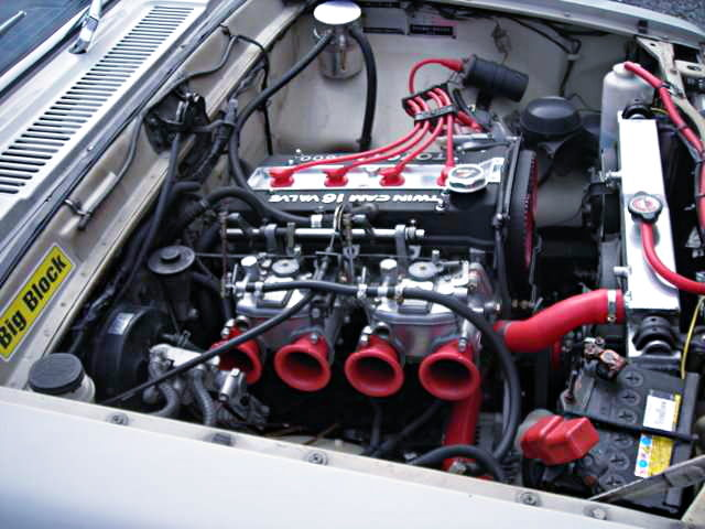 16V 4AGE ENGINE WITH CARBS