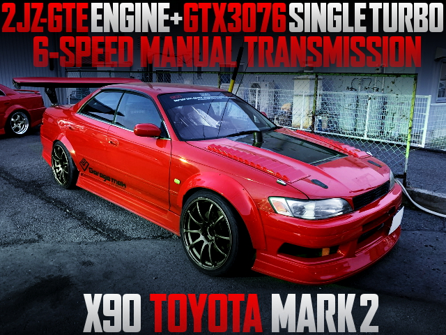 2JZ-GTE WITH GTX3076 TURBO ENGINE FOR X90 MARK2