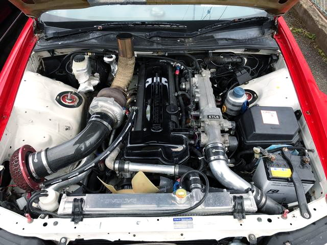 2JZ-GTE SINGLE TURBO ENGINE