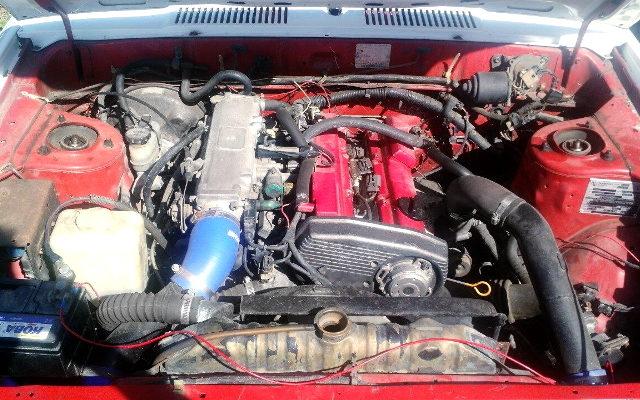 CA18DET TURBO ENGINE
