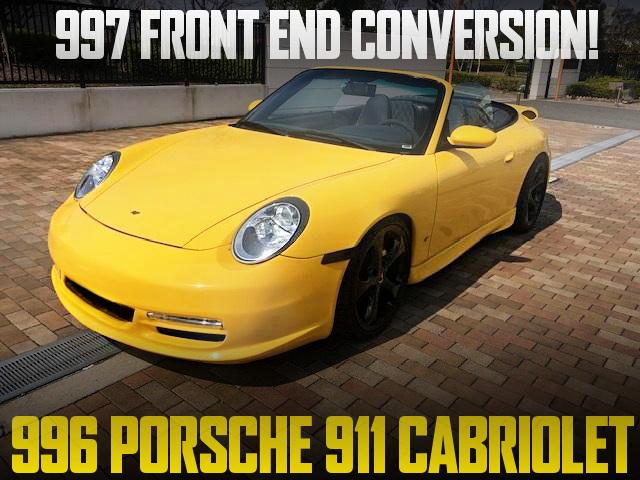 997 FRONT END 996 PORSCHE 911 CABRIOLET