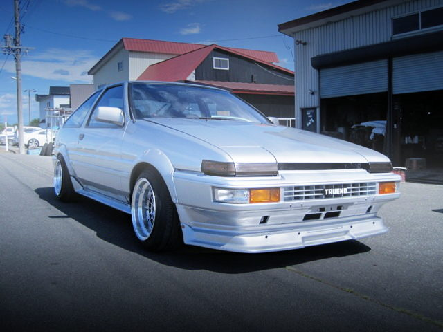 FRONT EXTERIOR FOR AE86 TRUENO