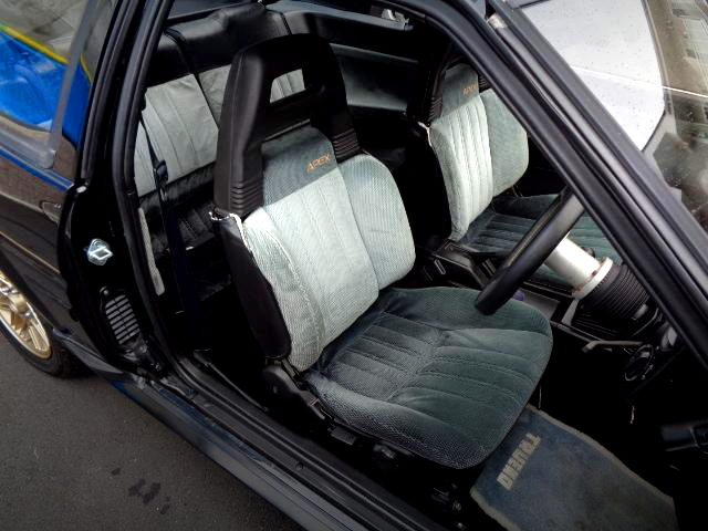 APEX SEATS FOR AE86 BLACK LIMITED