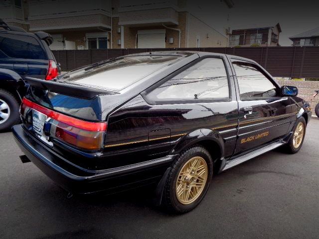 REAR EXTERIOR AE86 BLACK LIMITED