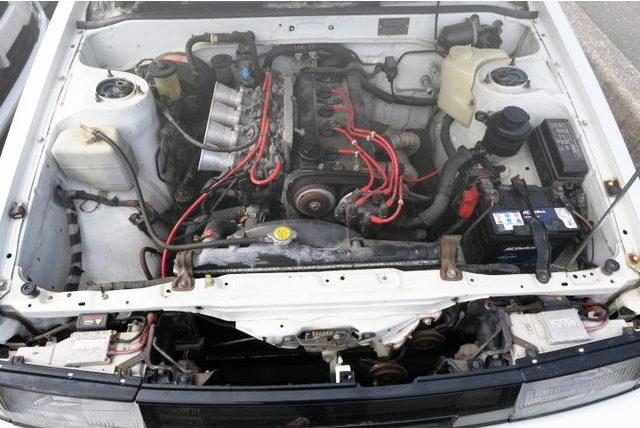 5V 4AG 1600cc ENGINE WITH FUNNEL