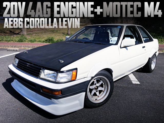20V 4AG ENGINE AND MOTEC M4 WITH AE86 LEVIN