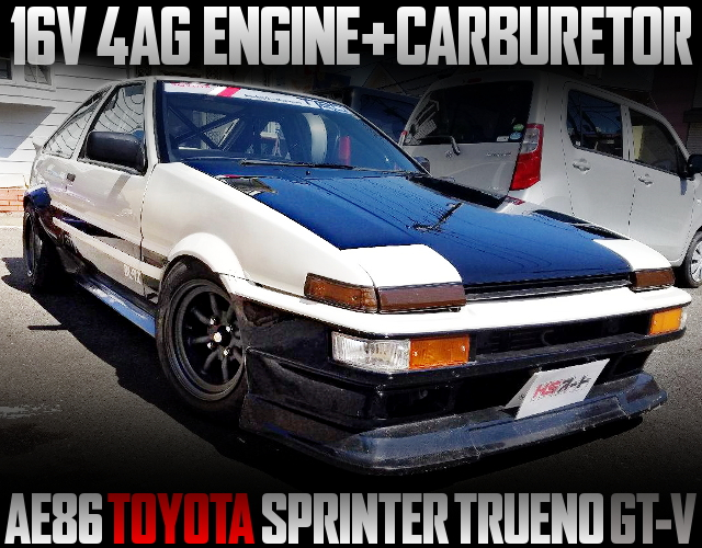 16V 4AG CARB ENGINE INTO AE86 TRUENO GTV