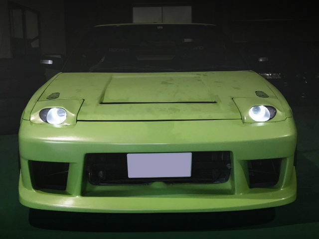 FRONT CUSTOM HID HEAD LIGHT FOR AW11 MR2