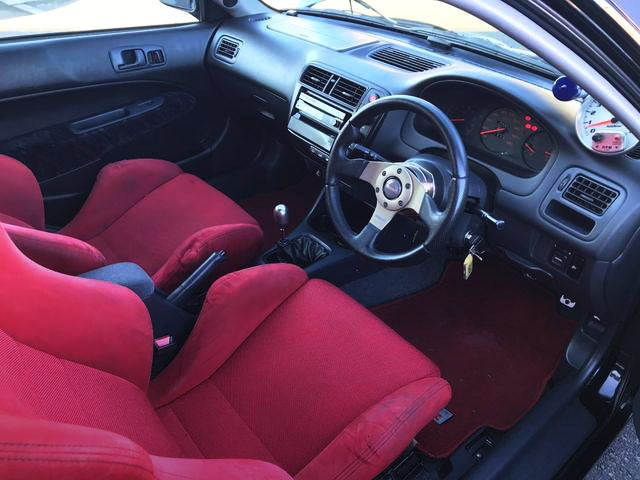 INTERIOR EJ7 CIVIC COUPE
