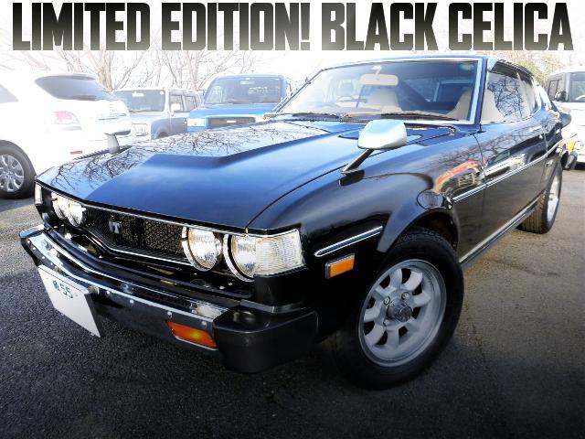 LIMITED EDITION RA35 BLACK CELICA LB 2000GT