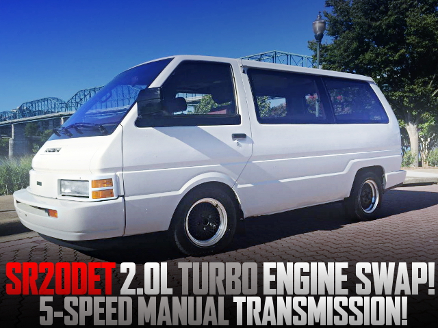 SR20DET TURBO ENGINE AND 5MT WITH C22 NISSAN VANETTE