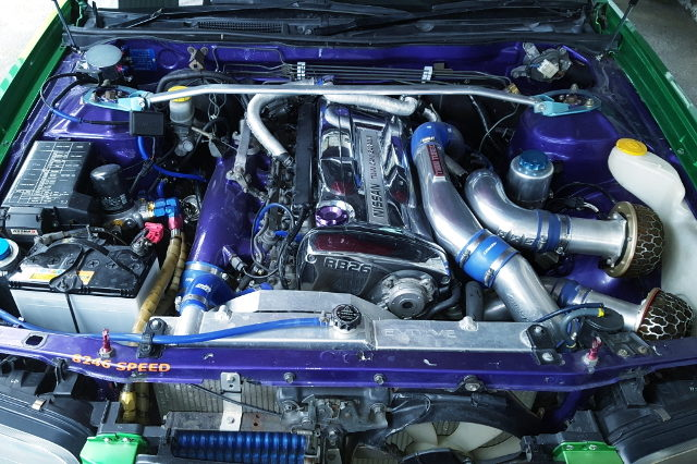 RB26 TWINTURBO ENGINE