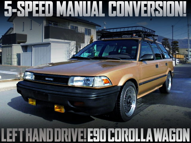 5MT CONVERSION USDM E90 COROLLA WAGON