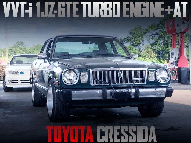 VVT-i 1JZ-GTE ENGINE SWAP X30 TOYOTA CRESSIDA
