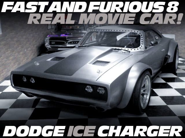 FAST 8 FROM REAL DODGE ICE CHARGER