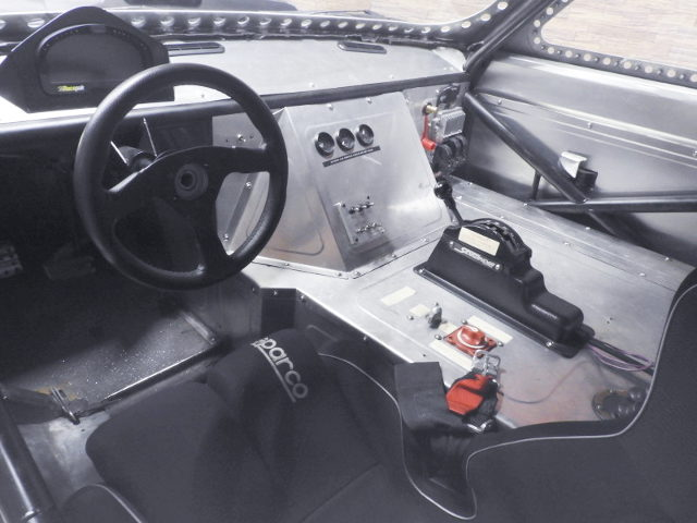 ICE CHARGER INTERIOR