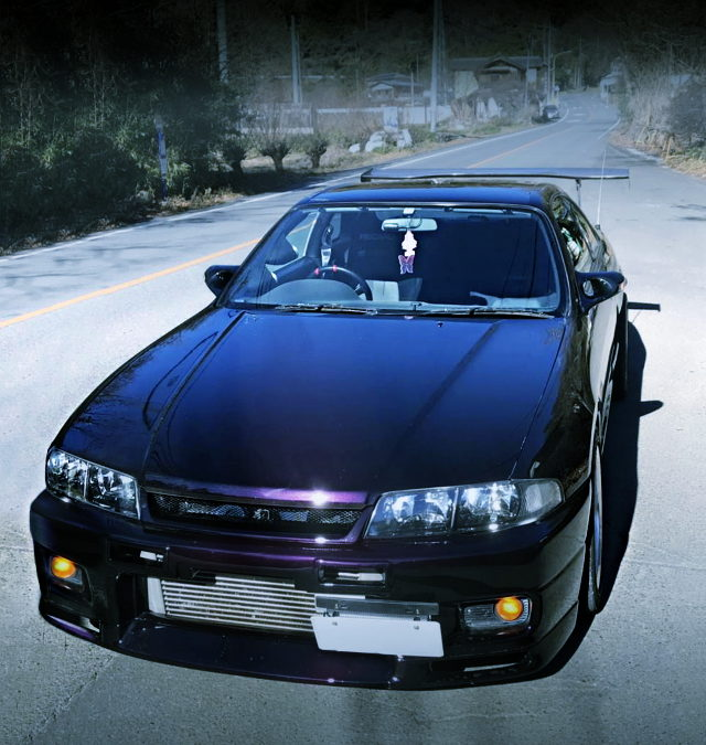 FRONT EXTERIOR ECR33 SKYLINE 2-DOOR PURPLE