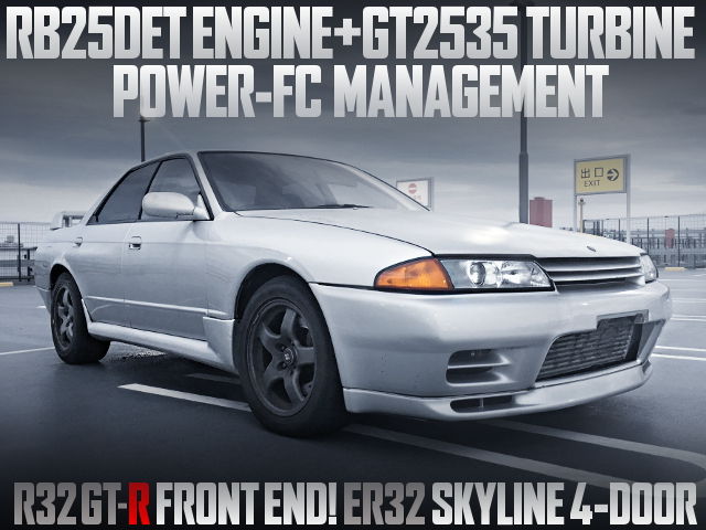RB25DET WITH GT2535 TURBO R32 SKYLINE 4-DOOT
