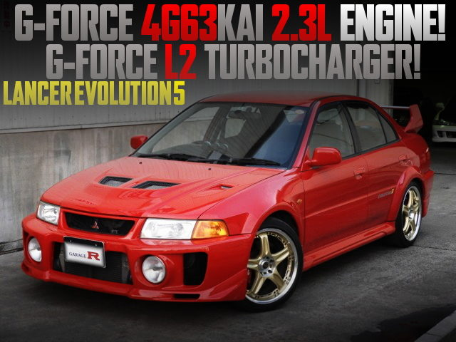 G-FORCE 2300cc 4G63 ENGINE EVO5