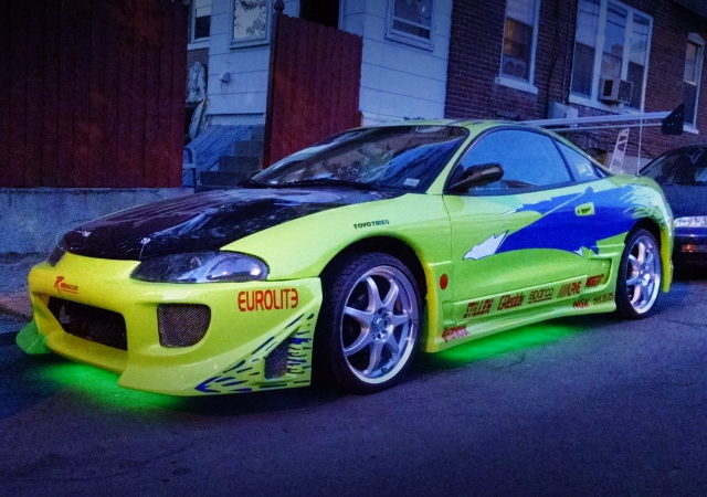 UNDER NEON FOR MITSUBISHI ECLIPSE