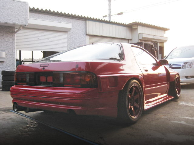 REAR SIDE EXTERIOR FC3S RX-7