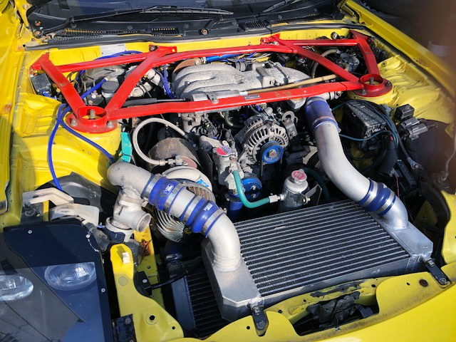 13B-REW ROTARY ENGINE WITH SINGLE TURBO