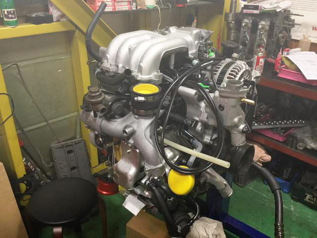 REBUILD TO 13B-REW ROTARY ENGINE