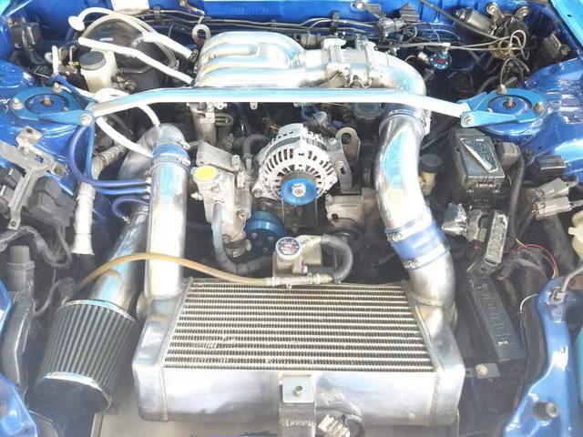 13B-REW ROTARY ENGINE WITH SINGLE TURBO CONVERSION