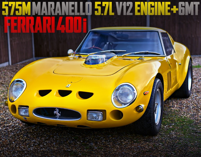 575M V12 ENGINE SWAP FERRARI 400i