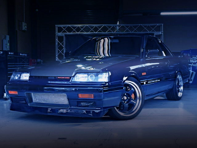 FRONT EXTERIOR R31 SKYLINE GTS-R BLUE-BLACK