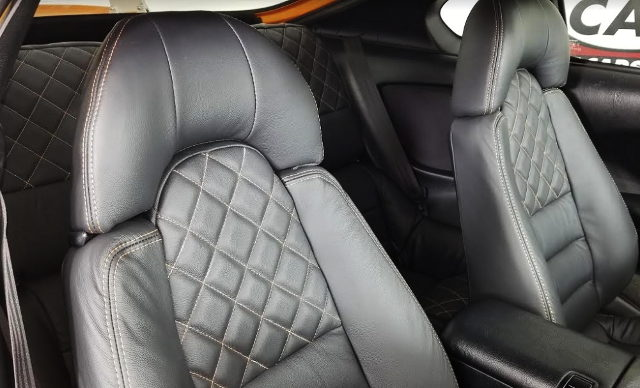 BLACK LEATHER SEATS