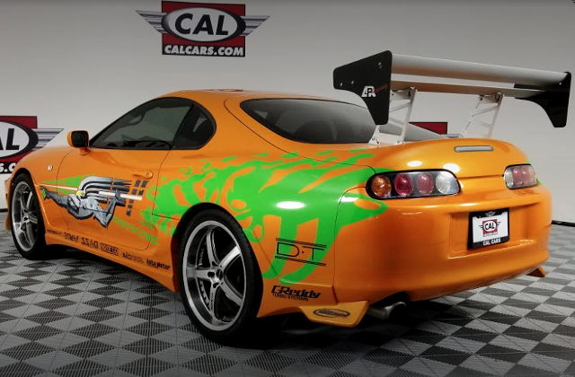 REAR EXTERIOR FAST FURIOUS REPLICA SUPRA