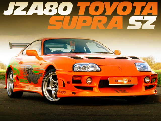 FAST FURIOUS MOVIE CAR REPLICA OF JZA80 SUPRA SZ