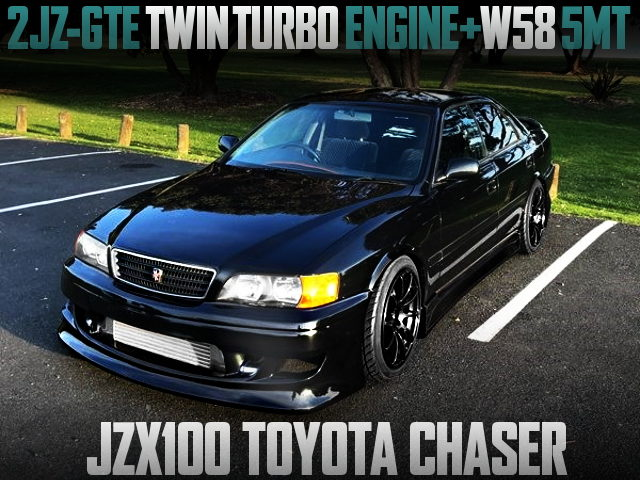 2JZ-GTE TWINTURBO ENGINE SWAPPED JZX100 CHASER