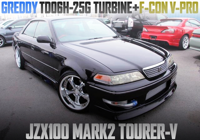 TD06H-25G TURBO AND F-CON V-PRO WITH JZX100 MARK2 TOURER-V