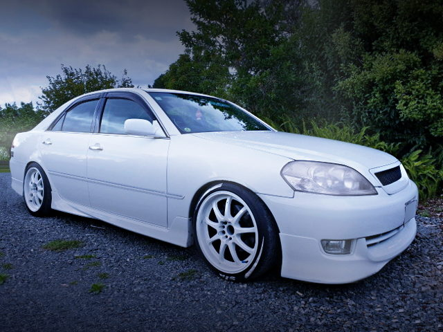 FRONT EXTERIOR JZX110 MARK2 iR-V WHITE