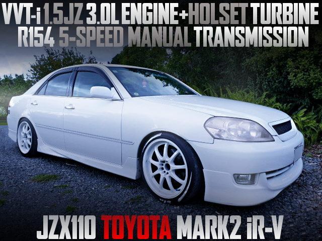 15JZ ENGINE AND HOLSET TURBO WITH JZX110 MARK2 iR-V
