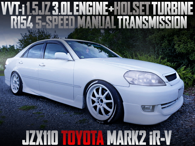 15JZ ENGINE AND HOLSET TURBO WITH JZX110 MARK2 iR-V