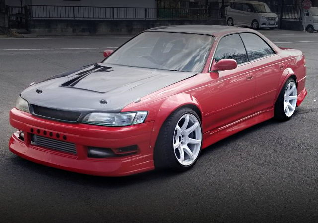 FRONT EXTERIOR JZX90 MARK2 RED COLOR