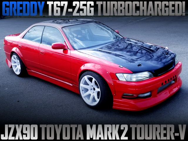 GREDDY T67-25G TURBOCHARGED JZX90 MARK2 TOURER-V