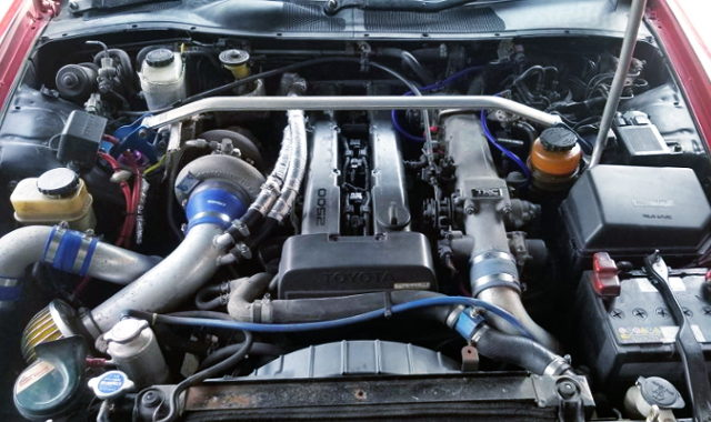 GREDDY T67-25G TURBO ON 1JZ-GTE ENGINE NON-VVTi