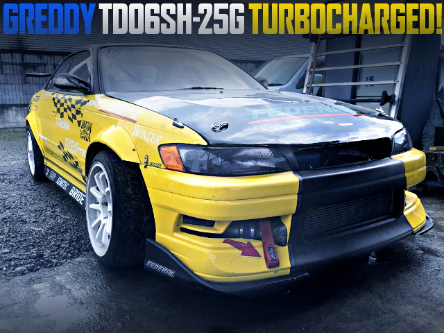 TD06SH-25G TURBOCHARGED JZX90 MARK2 DRIFT CAR