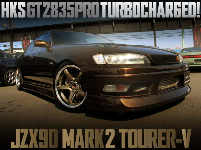 HKS GT2835PRO TURBO JZX90 MARK2 TOURER-V