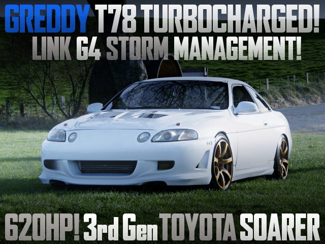 GREDDY T78 TURBOCHARGED 3rd Gen SOARER