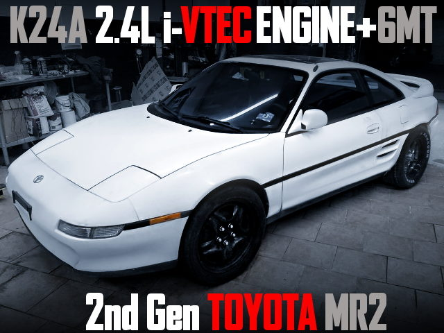 K24A iVTECENGINE SWAP 2nd gen TOYOTA MR2
