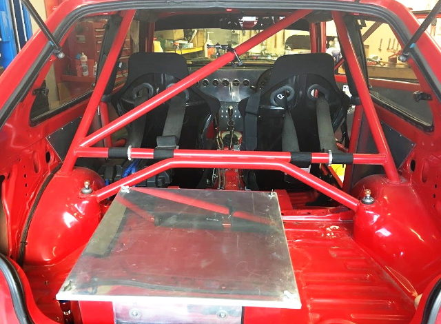 ROLL CAGE AND FUEL SAFETY TANK