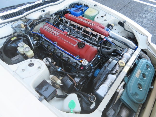 L28 ENGINE WITH HKS TURBO