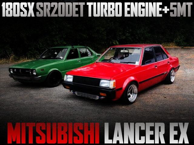 SR20DET TURBO ENGINE SWAP LANCER EX
