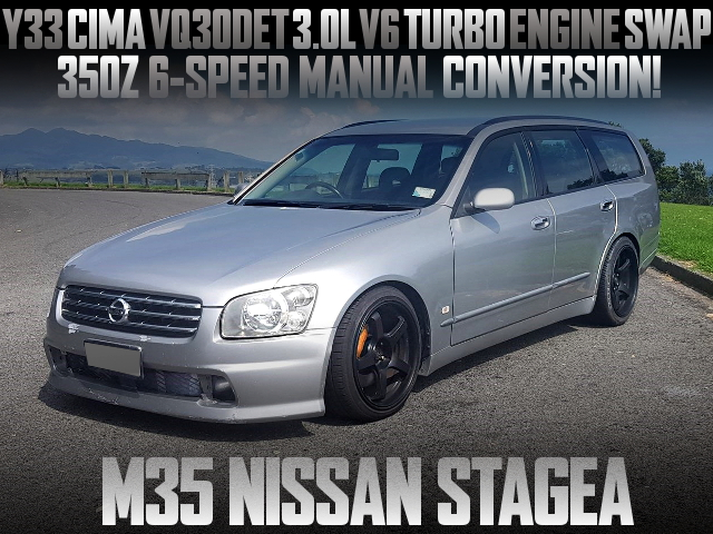 VQ30DET TURBO ENGINE SWAP M35 STAGEA
