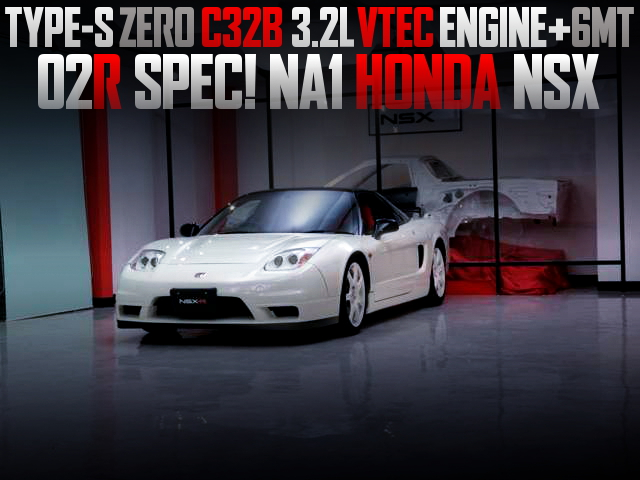 C32B 3200cc VTEC ENGINE AND 6MT WITH NA1 NSX
